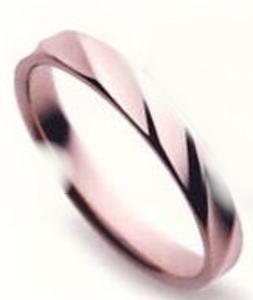 ★【お得な卸直営店価格はお問合せ下さい???】★ Sarasa サラサ 更紗 SR-257 K10PG ピンクゴールド マリッジリング 結婚指輪 ペアリング (1本)