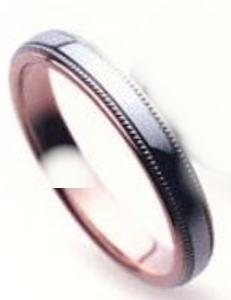 ★【お得な卸直営店価格はお問合せ下さい???】★ Sarasa サラサ 更紗 SR-255 K10WG ホワイトゴールド & K10PG ピンクゴールド マリッジリング 結婚指輪 ペアリング (1本)