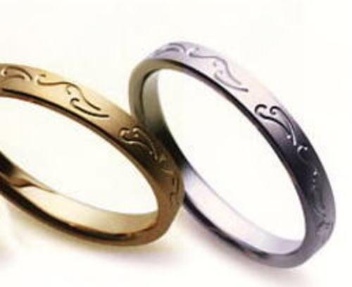★【お得な卸直営店価格はお問合せ下さい???】★ Sarasa サラサ 更紗 SR-212 K18YG イエローゴールド & SR-211 K18WG ホワイトゴールド マリッジリング 結婚指輪 ペアリング (2本)