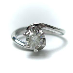 ◆4月誕生石◆K18ホワイトゴールドダイヤモンド0.10ctベビーリング♪