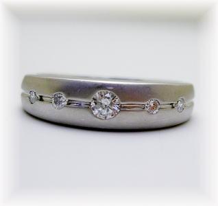 プラチナ ダイヤモンド リング