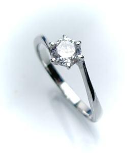 0 4ct F VS1 3EX H C PTプラチナ婚約指輪 エンゲージリング ダイヤモンドリング、S字フォルムタイプ6本爪 鑑定書付SUzVpGqM