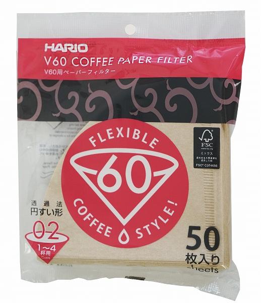 02タイプ 1~4杯用 のペーパーフィルター 訳あり商品 HARIO ハリオ V60 大特価!! VCF-02-50M-F 02M50枚フック穴あり 1000枚 20個セット ペーパーフィルター