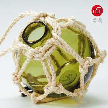 石塚硝子 ISHIZUKA GLASS アデリアグラス ADERIA GLASS 津軽びいどろ 浮球 F49602 花器 花瓶
