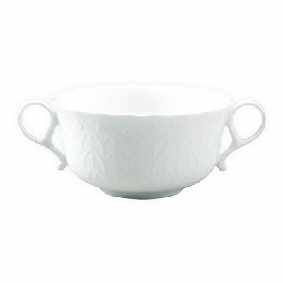 両手つきのスープカップ 無料 気軽にスープを楽しんでいただけます NARUMI ナルミ シルキーホワイト アウトレットセール 特集 290cc ブイヨン 9968-2297P スープカップ