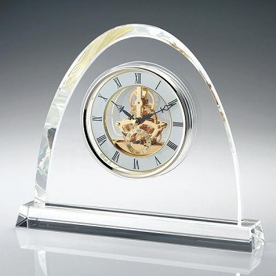 【期間限定!ポイント5倍中!】NARUMI ナルミ オーバル スケルトンクロック 24cm GW1000-11071