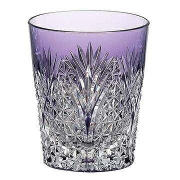 KAGAMI CRYSTAL カガミクリスタル 焼酎グラス(笹っ葉に麻の葉紋) 230cc T557-2472CMP
