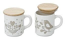 陶友長江商店 mini labo ミニラボ ハミング蓋ツキマグペア MI-11 マグカップ
