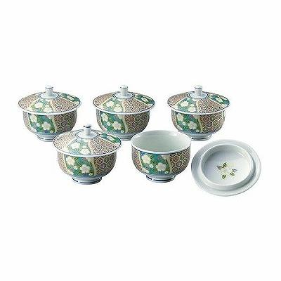 【オールシーズン贈り物】 有田焼 華小紋 汲出揃 4253 蓋付湯呑み 蓋付茶器