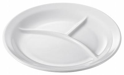 陶里 第30集 新商品 返品送料無料 白業務用食器8吋ランチ丸皿 70807-170