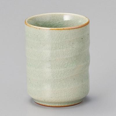 陶里 第30集 45040-200 推奨 物品 緑磁小湯呑