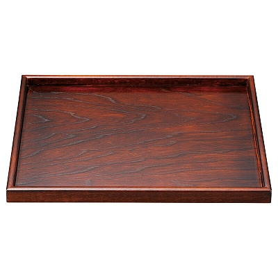 木 木製尺3寸木目長手盆 信頼 1101375 初回限定 ケヤキ