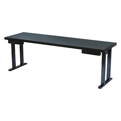 スペシャルオファ 木製テーブル/座卓(和洋兼用)新畳ずり脚 茶木目 幕板付 1700105, 我路屋はん工房 eef4f4be