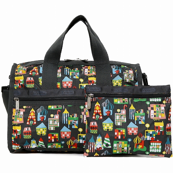 LeSportsac レスポートサック ボストンバッグ SMALL WEEKENDER STOCKHOLM SHOP