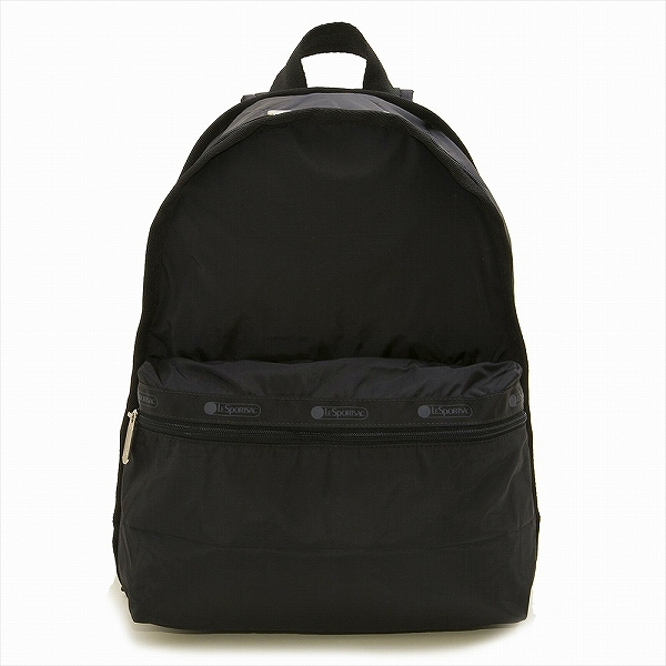 LeSportsac レスポートサック リュックサック BASIC BACKPACK Black Solid