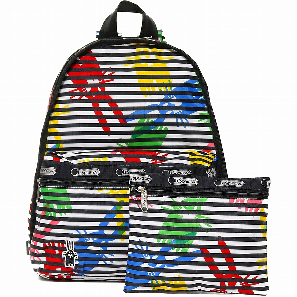 LeSportsac レスポートサック リュックサック BASIC BACKPACK JEFFREY