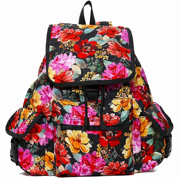 LeSportsac レスポートサック リュックサック Voyager Backpack ROMANTICS BLACK