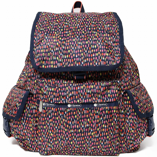 LeSportsac レスポートサック リュックサック Voyager Backpack MINI POPS
