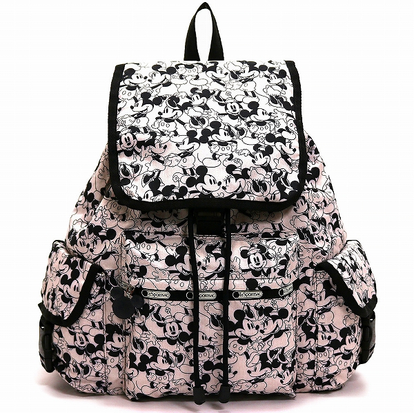 LeSportsac レスポートサック リュックサック Voyager Backpack MICKEY LOVES MINNIE