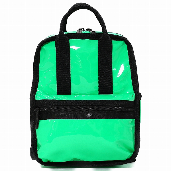 LeSportsac レスポートサック リュック GABRIELLE MICRO BOX BACKPACK ACID MINT