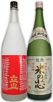 こだわりの北陸地酒セット1.8L瓶詰め合せ(1)≪立山吟醸&銀盤米の芯≫