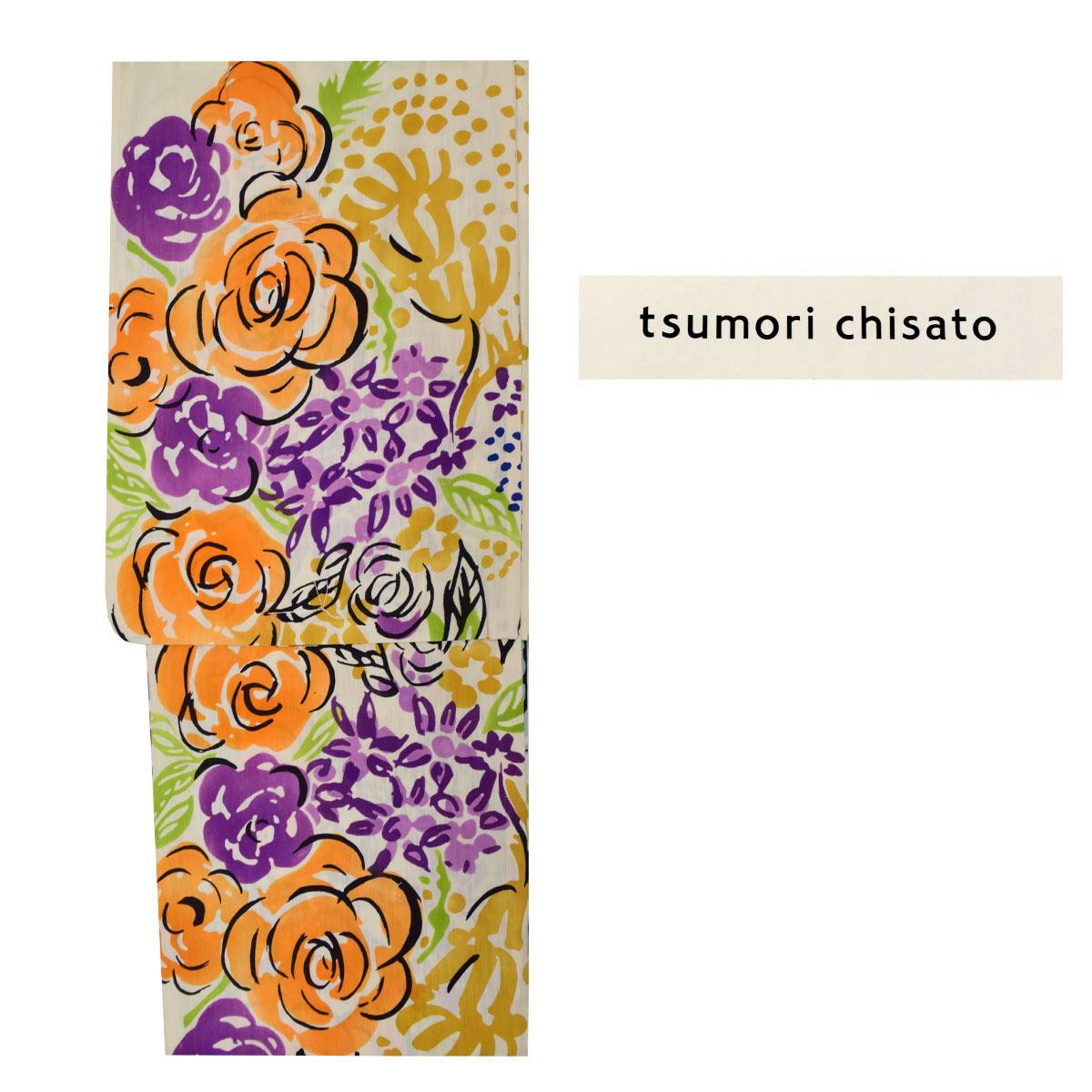 《30%オフクーポン利用可》お買い物マラソン【tsumori chisato】【綿】新作 ブランド レディース 浴衣 単品【ツモリチサト】番号c2-19
