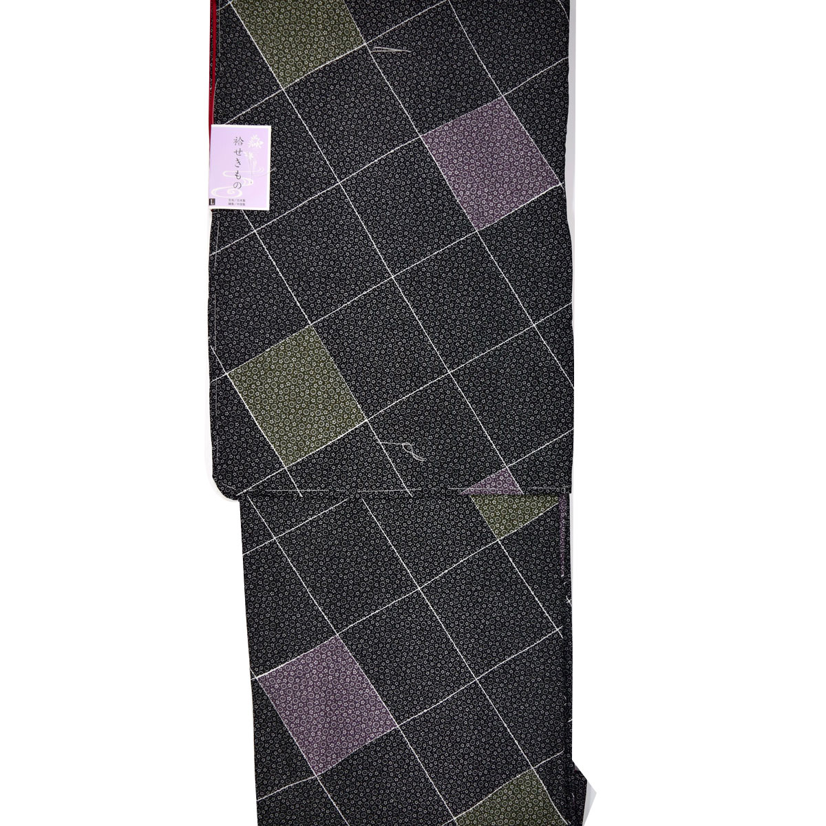 【L寸】上質生地仕立て上がり袷洗える着物【単品】番号c902-87 kimono washable【2019_9ss】