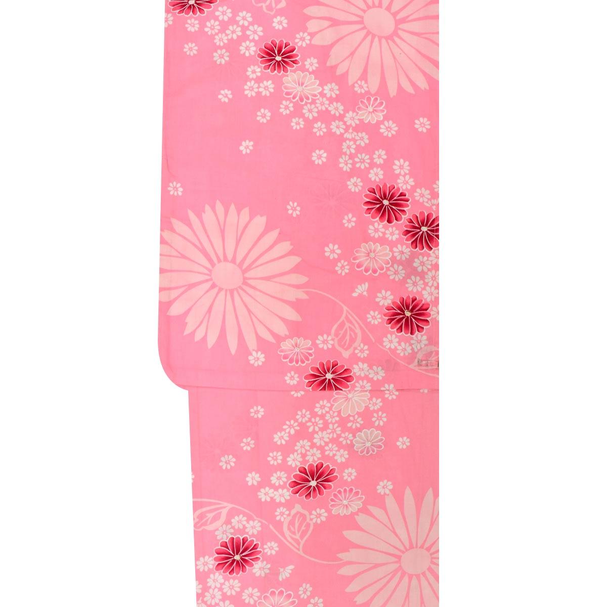 【Sサイズ】レディース浴衣小さめサイズ プチサイズ ゆかた単品 yukata ユカタ 祭り 納涼祭番号d814-51