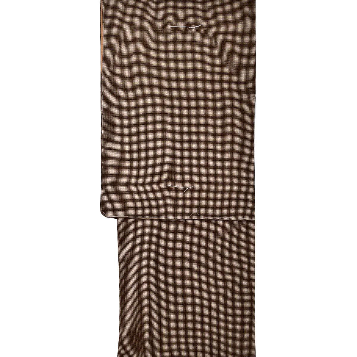 【M寸】 洗える着物 【 袷 】【 江戸小紋 】 【 仕立て上がり 】 洗える 着物 単品商品番号d914-57