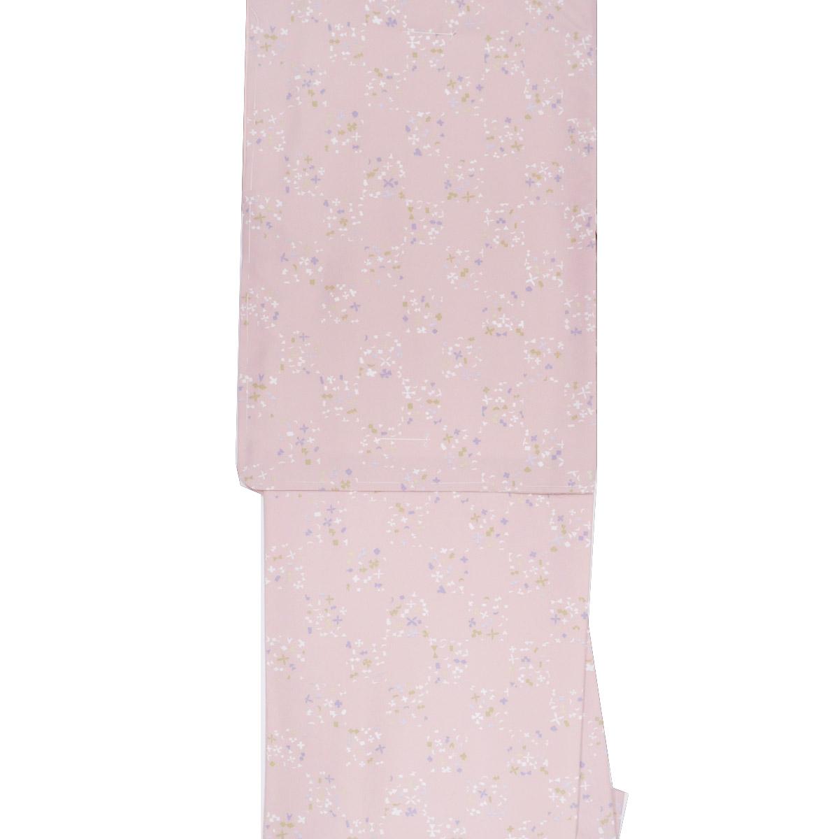 洗える着物 袷 単品【Mサイズ】洗える着物 普段着 小紋 番号f1011-304