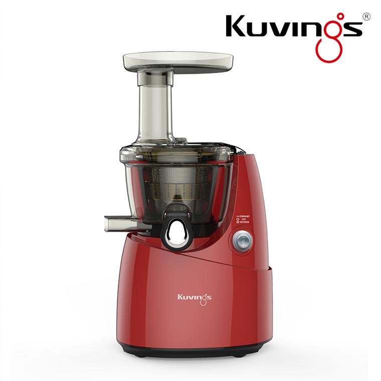 クビンス Kuvings サイレントジューサーJSG-620 (R) 正規品【送料無料】/おしゃれ/かわいい/かっこいい/家電/ミキサー/スムージー/ジュース/ジューサー/グリーンスムージー/健康/手作り/酸化防止/防音/電動/クヴィンス/