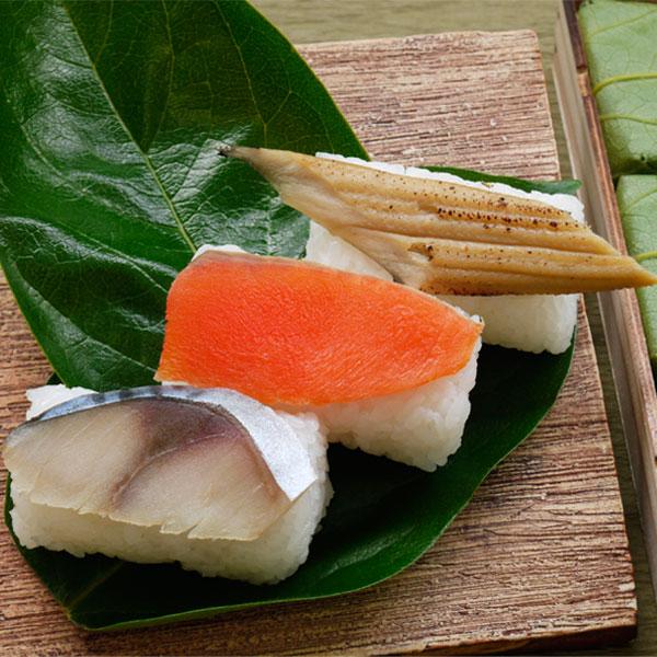 寿司 葉 柿 の