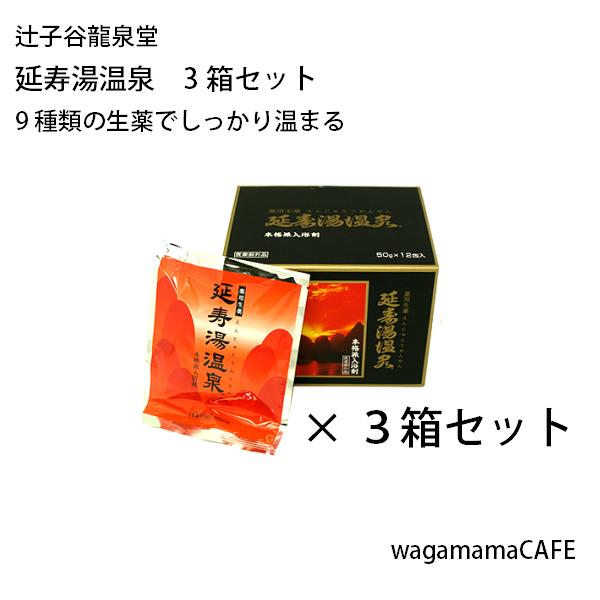延寿湯温泉(えんじゅとうおんせん) 徳用3箱セット 【送料無料】