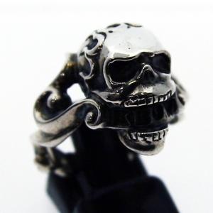 ドクロ 骸骨 スカル リング 指輪 シルバー シルバー925 メンズ ユニーク おもしろ ギフト プチギフト プレゼント おしゃれ ブランド SOLID DESIGN