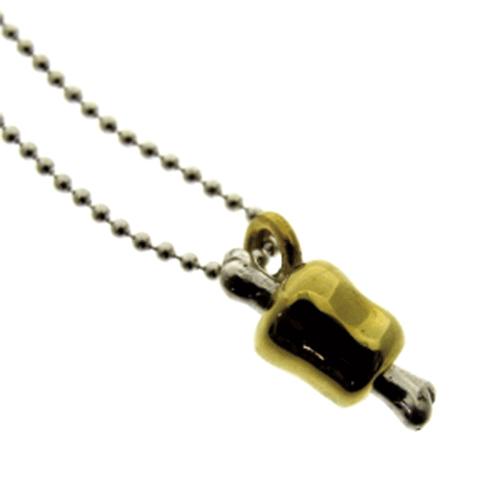 スペアリブ 骨付き肉 シルバー シルバー925 ネックレス ペンダント 真鍮 チャーム レディース メンズ ギフト プチギフト プレゼント おしゃれ ブランド SOLID DESIGN