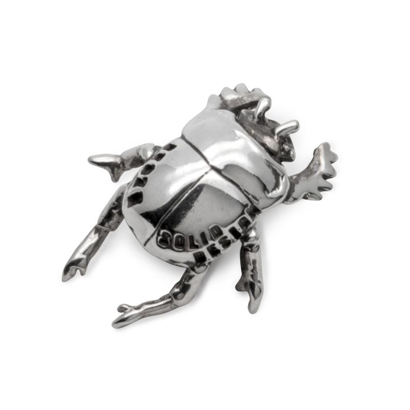 スカラベ 昆虫 シルバー sv925 ネックレス ペンダント チャーム レディース メンズ ギフト プレゼント 人気 おしゃれ ブランド SOLID DESIGN