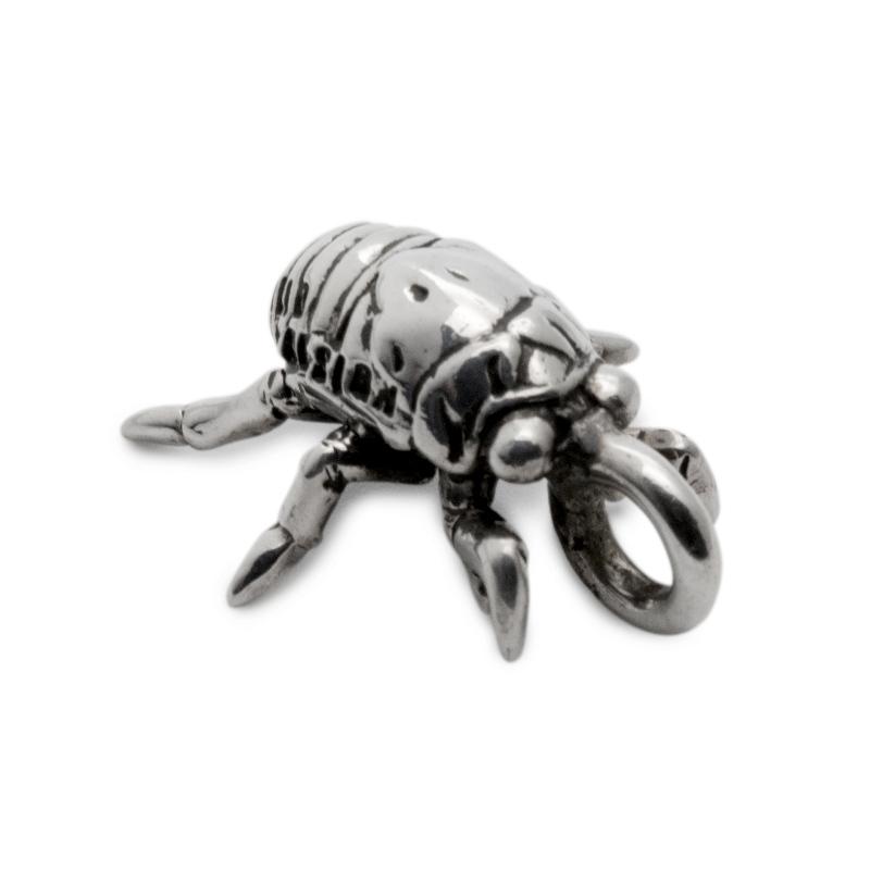 蝉 セミの抜け殻 昆虫 シルバー sv925 ネックレス ペンダント チャーム レディース メンズ ギフト プレゼント 人気 おしゃれ ブランド SOLID DESIGN