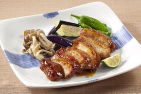 【ニチレイ】鶏もも肉の熟成照焼き(骨なし) 130g×80枚