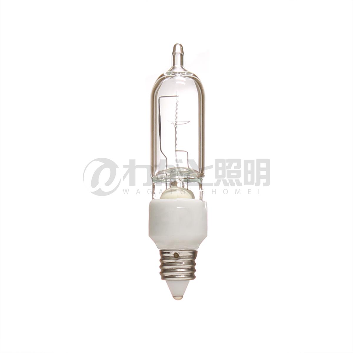 ◎川上ランプ キセノンT型電球 約10%節電タイプ E11口金 75W形 1080lm 【10個入り】 X100/110V68WE11/L