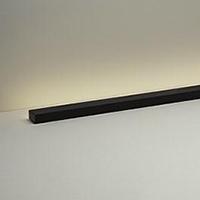 ◎DAIKO LED照明 まくちゃん スタンド 電球色(2700K) 21W 全長1285mm 差込プラグ付 中間スイッチ付 本体色:黒白 DST-38694Y