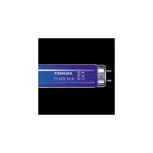◎東芝 ブラックライト蛍光ランプ 直管スタータ形 15形 【25本入り】 FL15BLB