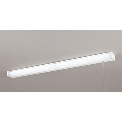 ◎ODELIC LEDキッチンライト 手元灯 FL20W×2灯相当 昼白色 消費電力17W 壁面・棚下面取付兼用 100V用 スイッチ付き 点灯切替型 OB255102