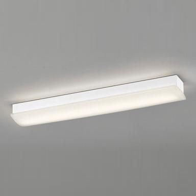 ◎ODELIC LEDキッチンライト ソリッドライン幅広タイプ HF16W高出力×2灯クラス 電球色 消費電力21.3W 100V~242V用 LED一体型 OL291028P4F