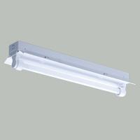 ◎三菱 反射笠付直管形LED照明器具 防雨・防湿タイプ MILIE(ミライエ) Lファインeco FLR20形×1 100~242V 白色 1200lm×1 固定出力形(ランプ付) ELLWH2061AHJ+LDL20TN1012G3