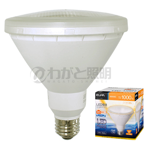 ◎ELPA エルパボール LED電球 ビームランプタイプ 15.0W 電球色相当 E26口金 1000lm 屋内・屋外兼用 外径122mm 【10個入り】 LDR15L-M-G051