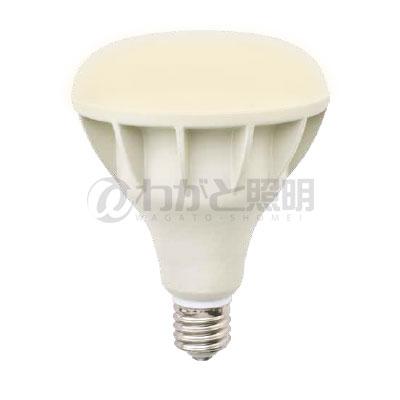 ◎ニッケンハードウェア Vierlamp(ビューランプ) LED電球 ビーム電球 屋外サイン用 広角配光 バラストレス水銀灯300W形 電球色 2700K 4185lm E39口金 本体:白色(ホワイト) VLE39WD-W