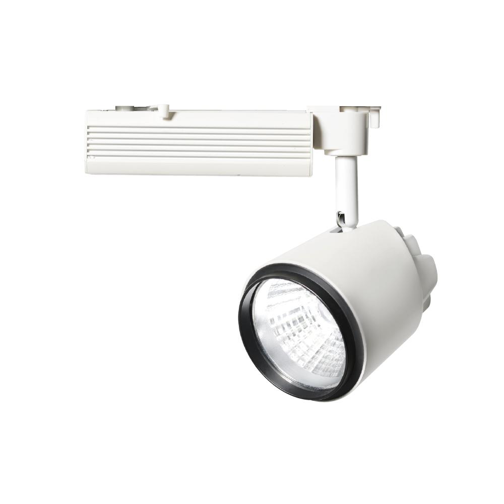 ◎OKAMURA LED配線ダクトスポット 40W 4000K(白色)相当 Wレンズ 本体色:白 OFND-3/HC40(Wレンズ 電源内蔵)
