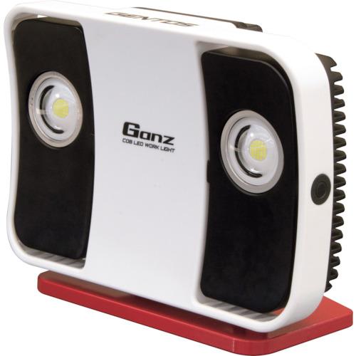 送料無料 ガンツ 直営限定アウトレット GENTOS Ganz 投光器シリーズ LED投光器 LED高出力型投光器 専用ACアダプター付き IP64 注文後の変更キャンセル返品 12000lm AC充電式 COBLED搭載 GZ-305