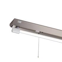◎東芝 LEDベースライト 防湿・防雨形 逆富士非常用照明器具 ステンレス Sタイプ LDL40×1灯用 非常時定格光束3800lm×45% 非常時30分間点灯 昼白色 LEDランプ付 LEDTS-41384M-LS9 ※受注生産品