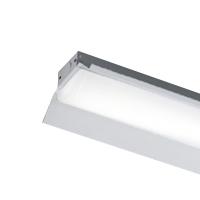 ◎東芝 LEDベースライト TENQOO 直付形 20タイプ 専用調光器対応 反射笠 高演色3,200lmタイプ Hf16形×2灯用高出力器具相当 電球色 AC100V~242V LEDバー付 LEKT215323VL-LD9(LEET21501LD9+LEEM20323LVB) ※受注生産品